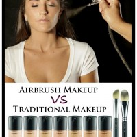 Traditional Vs. Airbrush Makeup
